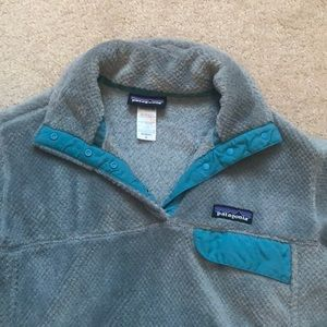 Patagonia Re-Tool Snap T Pullover Blue Medium